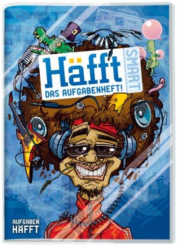 Häfft Smart: A5 Hausaufgabenheft mit verkürztem Innenteil und Kunststoff-Umschlag. Motiv: Musik