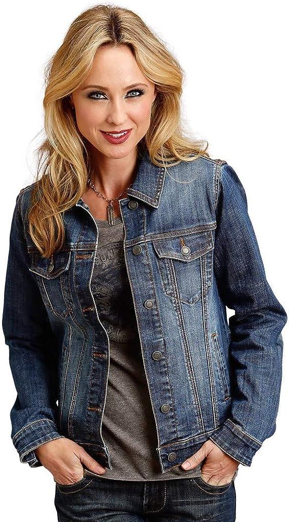 Stetson Women's Serape Back Denim Jacket
