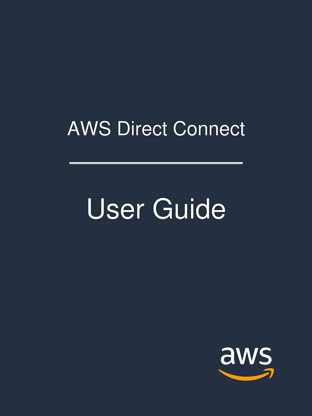 聖職者フロー軍団AWS Direct Connect: User Guide (English Edition)