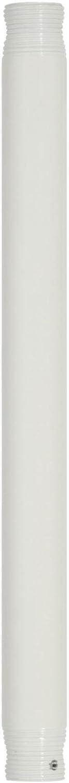 Westinghouse Lighting 7726500 Ceiling Fan Down Rod 18 Inch White