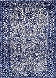 Luxe Weavers Manhattan Collection Oriental 8x10 Blue Area Rug 1564