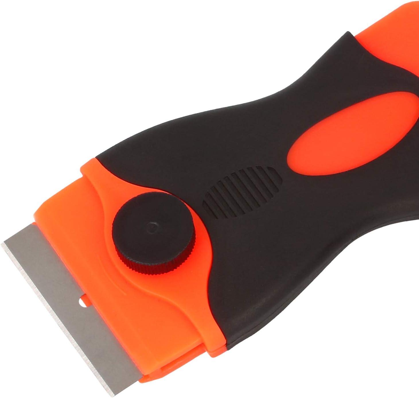 rascador de Limpieza Universal para Superficies Lisas 03 Piezas - Mini raspador com-four/® Mini rascador 3X raspador pr/áctico para Placas