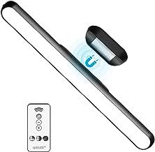WILLED Dimbare Touch Remote Control Light Bar, 5W Ingebouwde 2000mAh Batterij en Stick Magneet Mount, voor lezen, kast, ma...