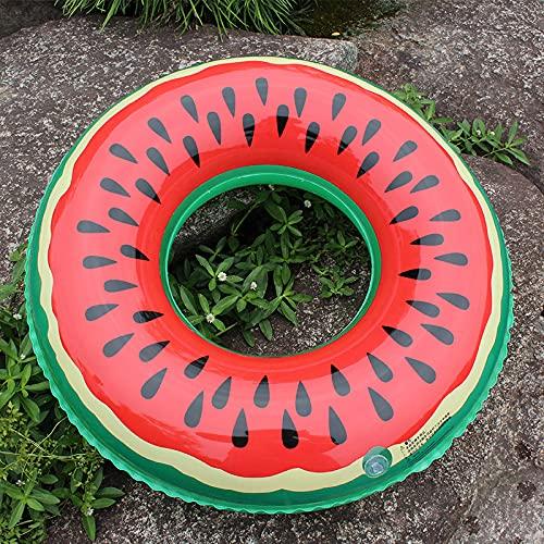 Beifeng Anillo de natación para niños con patrón de frutas inflables para natación, balsa para el agua, verano, 70 cm de diámetro