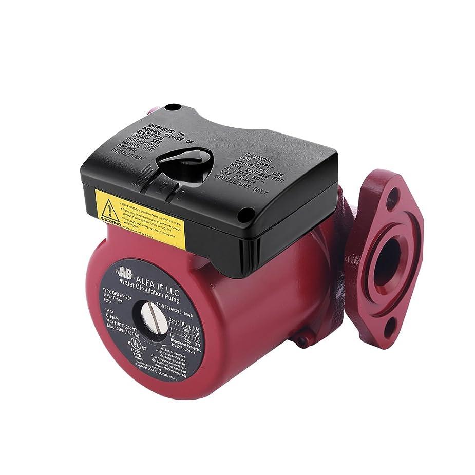 小包メディア移動するAB 暖房循環ポンプ62 GPMタンクレス給湯器、冷水循環、太陽熱温水器やボイラー用0-12