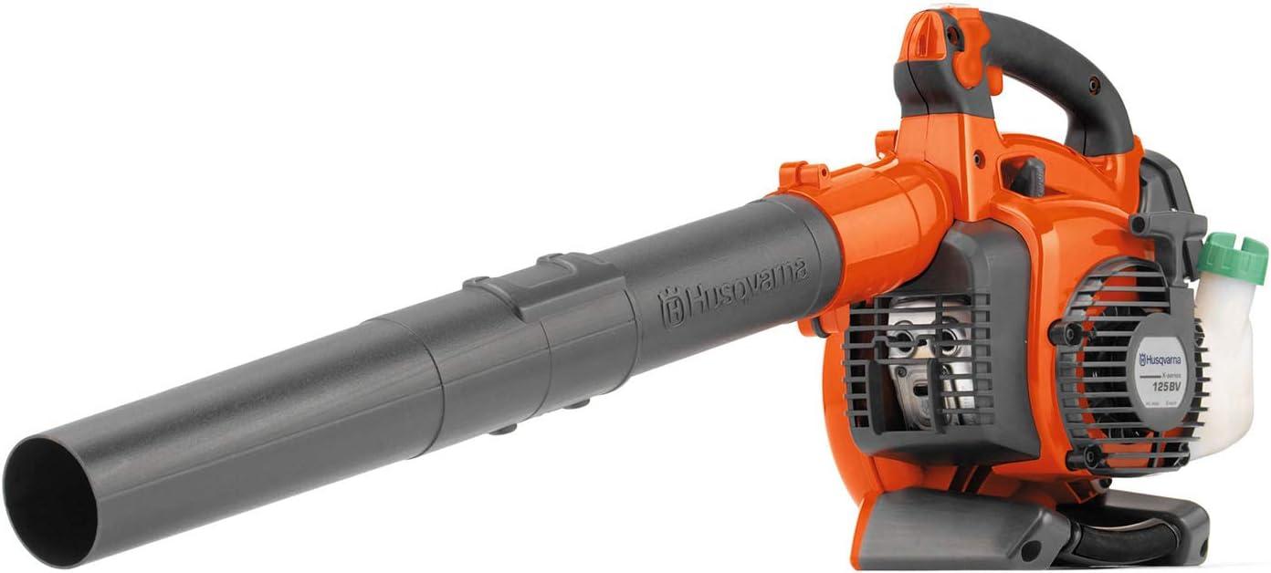 Husqvarna 125BVx, 28cc 2-Cycle Gas 425 CFM 170 MPH Handheld Leaf Blower/Vacuum - 952711902 : Lawn And Garden Blower Vacs : Garden & Outdoor