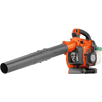 Husqvarna 125BVx, 28cc 2-Cycle Gas 425 CFM 170 MPH Handheld Leaf Blower/Vacuum - 952711902