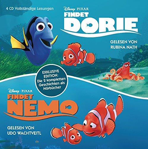 Findet Nemo - Findet Dorie: Exklusive Edition: die zwei kompletten Geschichten als Hörbücher
