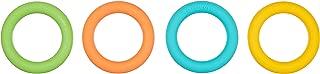Amazon Brand - Solimo Teething Loops, BPA Free (Pack of 4)