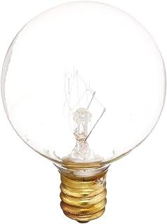 100 CRI E12-120V Bulbrite 300005-10W 2700K 2,500Hr G9 50 Lumens 25 Pack Matte White Finish Incandescent Globe Light Bulbs