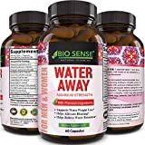 Natural Diuretic Water Away Pills Vitamin B6 Potassium & Dandelion Root Extract Water Retention Anti-Bloating...