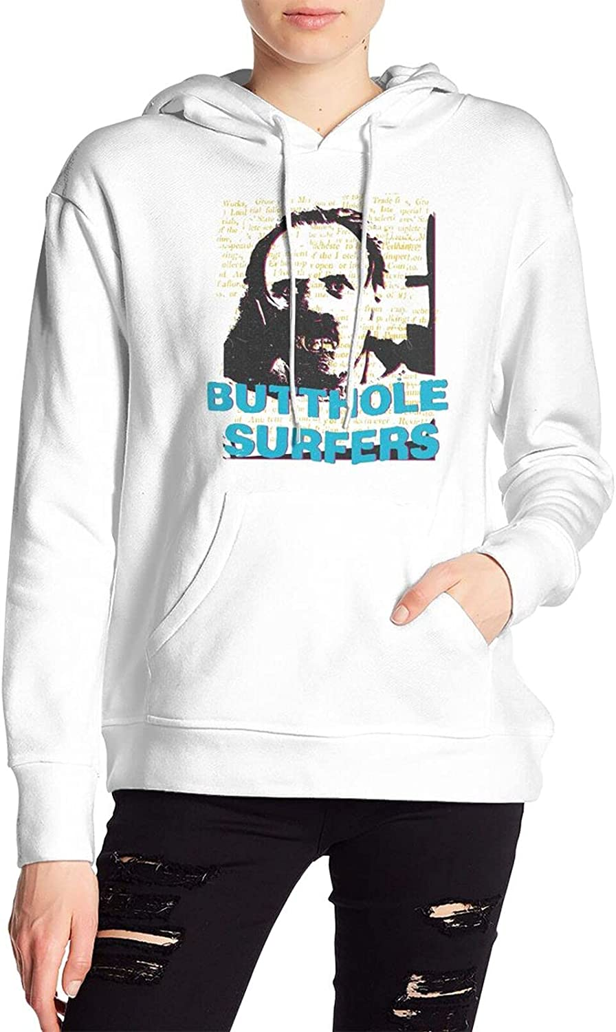 Butthole Surfers Art Max 54% OFF Pullover Womens Sleeves Long Jacket Fashion High order