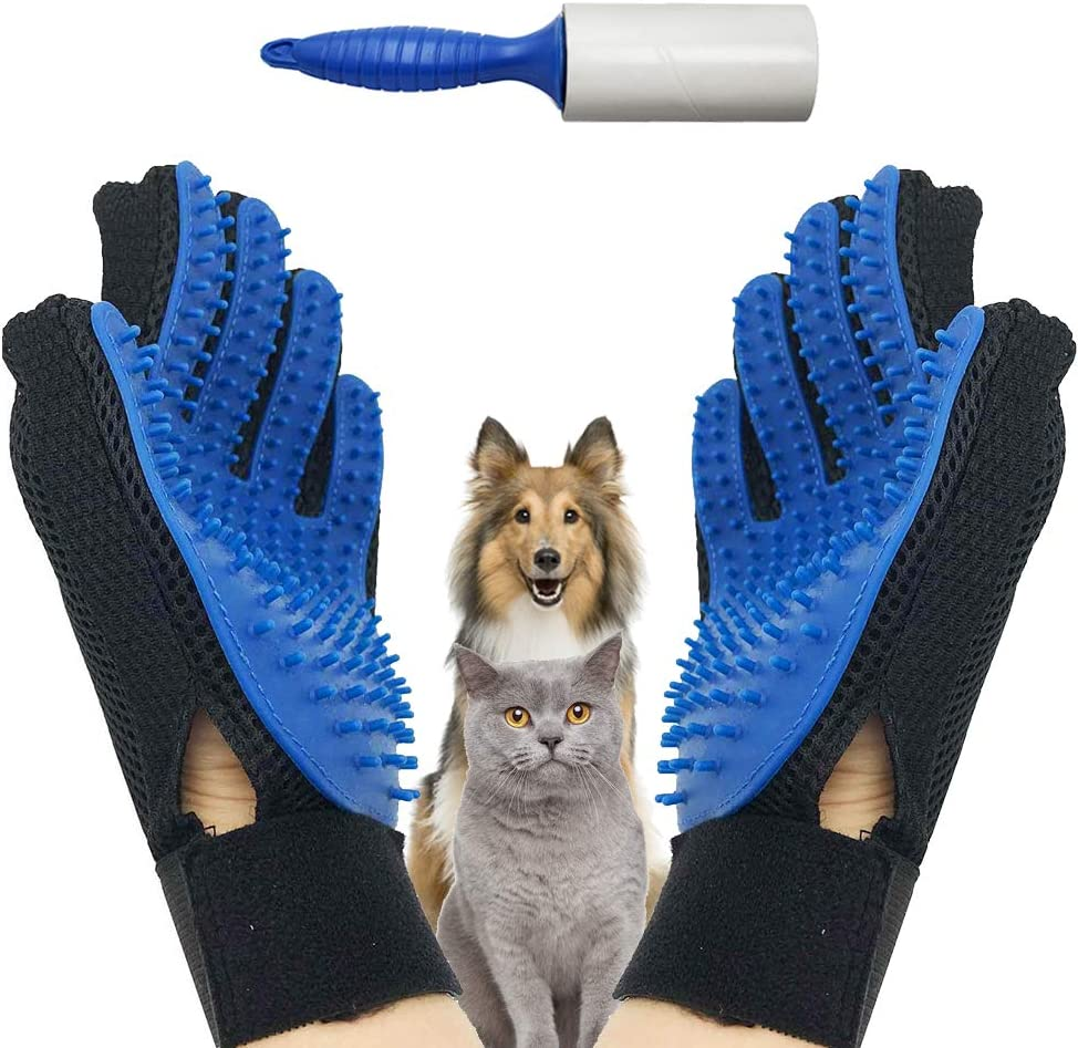 EJG New Version 1 Pair Pet with Gloves Removal Grooming Bru Hair In a popularity New products, world's highest quality popular!