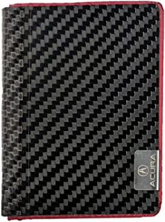 product image for Common Fibers Real Carbon Fiber Acura Edition Minimalist Womens and Mens Wallet - Official Licensed Product