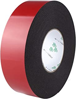 PE Foam Double Sided Tape, Waterproof Mounting Adhesive Tape Roll for Doors/Plumbing/HVAC/Windows/Pipes/Construction(1 Rolls Wide 1 in Long 33 Ft)