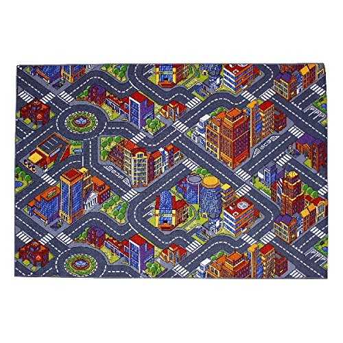 Associated Weavers, Tappeto, Motivo: Big City, Multicolore (Mehrfarbig), 140 X 200 cm