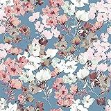 Schickliesel Organic Jersey Stoff Meterware ab 50cm Blüten