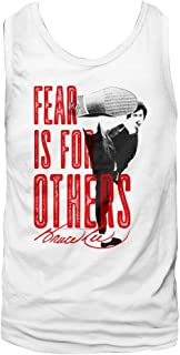Bruce Lee Chinese Martial Arts Icon Fear is for Others Adult T-Shirt Tee