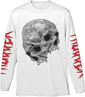 Young Thug 'Thugger Skull 2017 Tour' (White) Long Sleeve Shirt