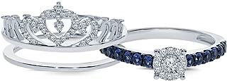 Best princess crown ring diamond Reviews