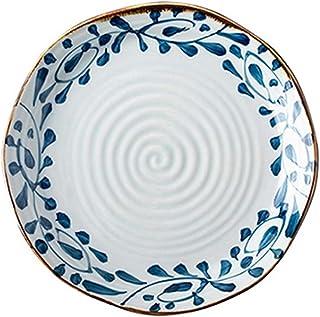 Dinner plate الإبداعية لوحة السيراميك اليابانية البيتزا لوحة طبق ساخن لوحة المطبخ الخزف لوحة غير النظامية مضلع لوحة المنزل...
