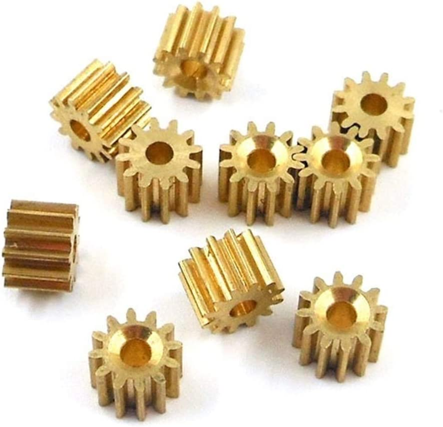 Today's only DINGGUANGHE-CUP Durable Directly managed store 122A 0.5M Copper lot Gears 10pcs Toot 12