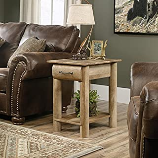 Sauder Boone Mountain Side Table, Craftsman Oak finish