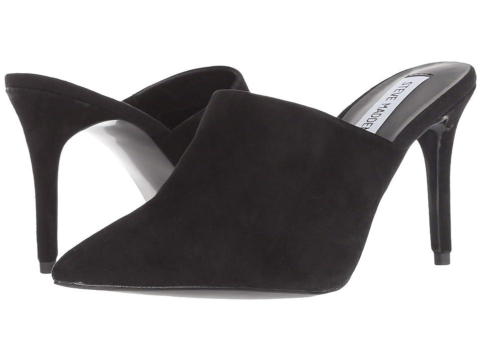 Steve Madden Deuces (Black Suede) High Heels