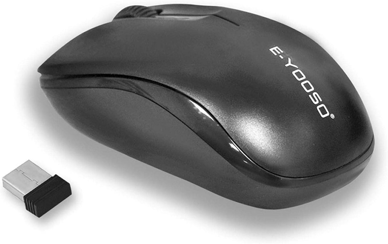 Wireless Mouse E-YOOSO 2.4GHz Max 49% OFF Inexpensive Basic Min Fast-ScrollingErgonomic