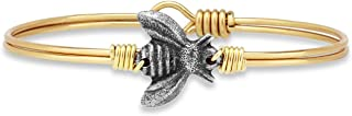 Bee Bangle Bracelet for Women Made in USA