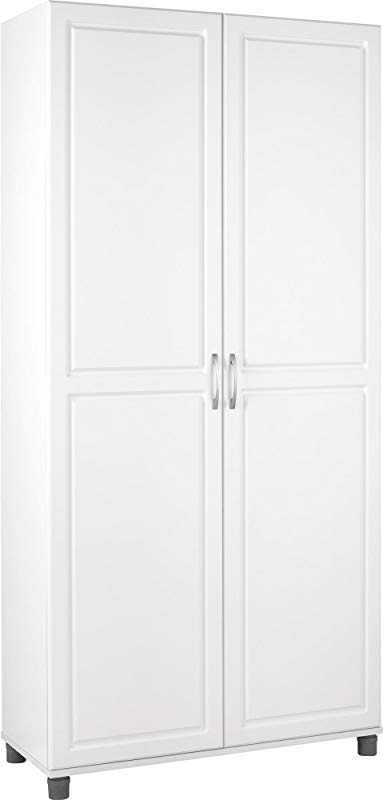 SystemBuild Kendall 36 Utility Storage Cabinet White