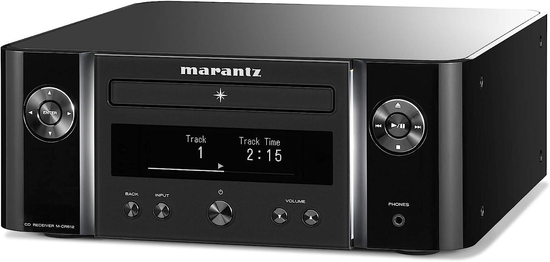 Marantz - Sistema de Red Hi-Fi Melody X (M-CR612), Color Negro Sistema de Red Hi-Fi Negro