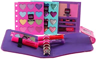 Pink Fizz Girls All-In-One Mega Glam Beauty Binder- Kids Pretend Make Up - Non Toxic and Washable