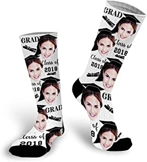 Custom Socks,Mens Socks, Customized According to The Pictures Provided by The Customer,Soft and Comfortable Personalized Gifts for Mens