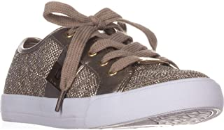 G by Guess Womens Backer2 Leather Low Top Zipper Fashion Sneakers