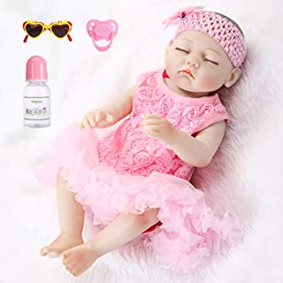 "Reborn Baby Girl doll Clothes Outfit Dress Doll ACCESSORY For 22/"" Doll gift #5"