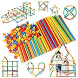 【公式】 Lon-Bi(ロンビー) 物作りやアクティビティにも使える新感覚チューブ式ブロック 7色 560ピース