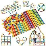 Lon-Bi(ロンビー)チューブ式ブロック 7色 560ピース