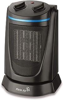 Plein Air Mini Vulcano Ceramic CMO 1500 Calentador de ventilador Interior Negro 1500 W - Calefactor (Calentador de ventilador, Cerámico, Interior, Piso, Negro, Giratorio)
