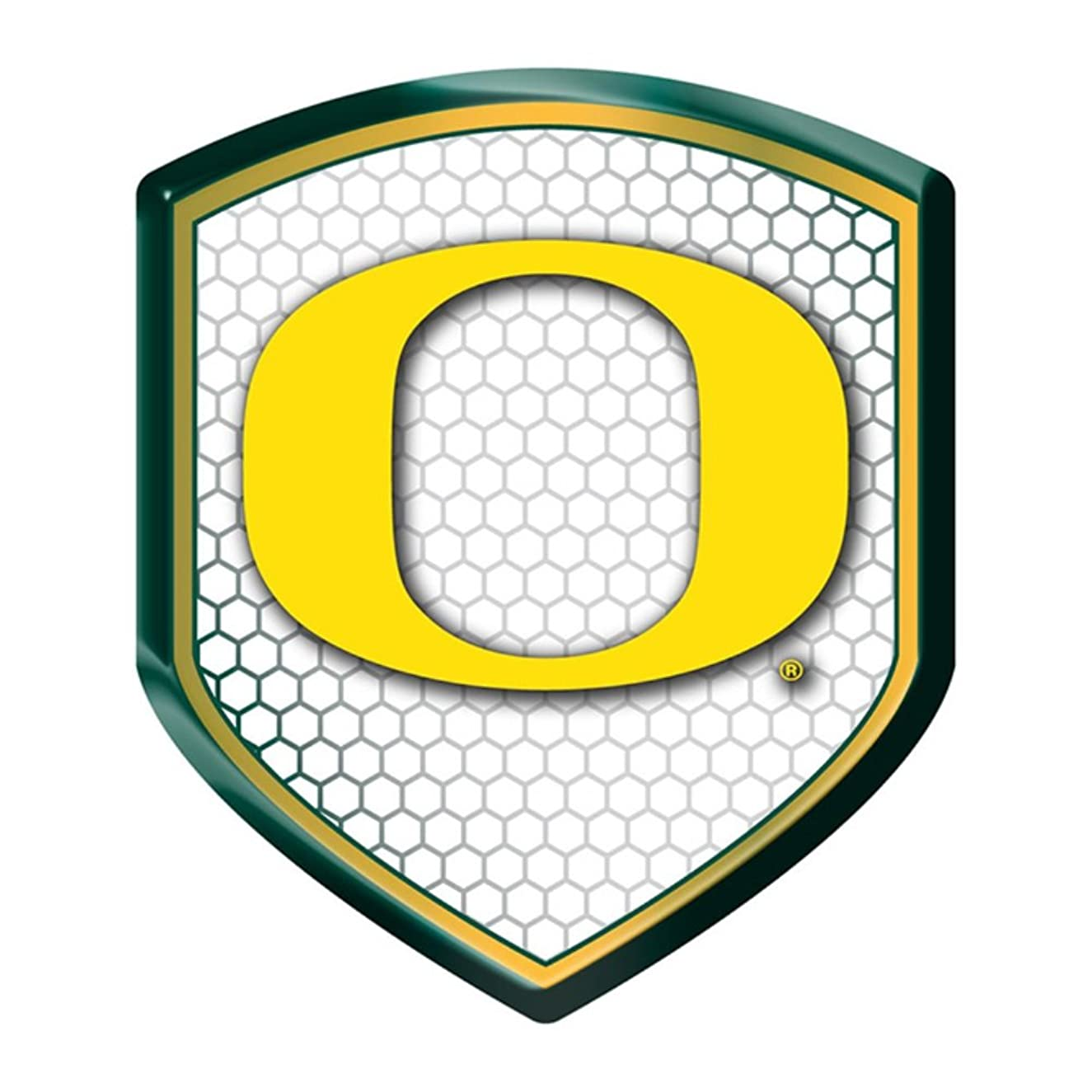 Oregon Ducks NCAA Reflector Decal Auto Shield for Car Truck Mailbox Locker Sticker College Licensed Team Logo