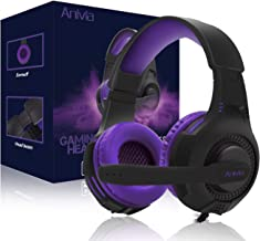 Sponsored Ad - PS4 Gaming Headset,AH68 3.5mm Wire Over Ear Headphone with Microphone for Xbox One, Laptop Mac,Gaming Headp...