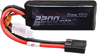 KINGDUO 7.4V 2200Mah 50C 2S1P Lipo Batterie TRX Plug pour Voiture Rc