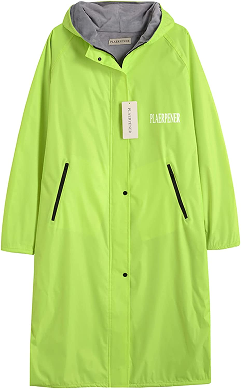 Womens Long Raincoat Windbreaker Waterproof Jacksonville San Diego Mall Mall Rain C Hooded Jacket
