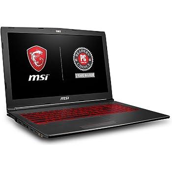"MSI GV62 8RD-034 15.6"" Thin and Light Gaming Laptop, GeForce GTX 1050Ti 4G, Intel i7-8750H (6 Cores), 8GB DDR4, 128GB SSD + 1TB, Windows 10 64 bit, Steelseries Red Backlit Keys"