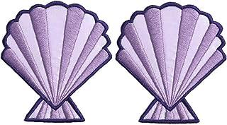 Best mermaid seashell iron on Reviews