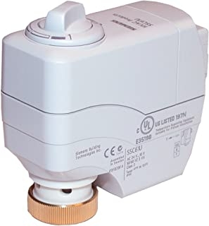 Siemens SSC81U Electronic Valve Actuator with Floating Control and Non Spring Return