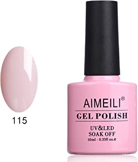 AIMEILI Soak Off UV LED Gel Nail Polish - Bryophyllum Pinnatum (115) 10ml