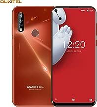 【6.35 Inch Punch-Hole Screen】 Unlocked Cell Phones OUKITEL C17 PRO Dual SIM 4G Smartphone Android 9.0 4GB RAM 64GB ROM Triple Cameras 13MP + 5MP + 2MP 3900mAh Battery- Sunrise