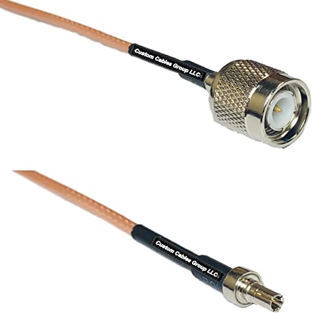Details about  /RG316 RF Coax Cable TNC Male to TNC Female Bulkhead Pigtail Cable 0.61M//2Ft