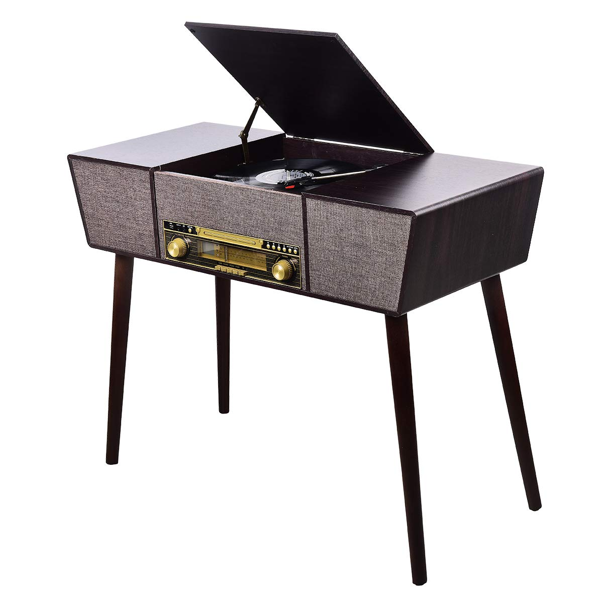 JORLAI Bluetooth Turntable Recorder Line Out